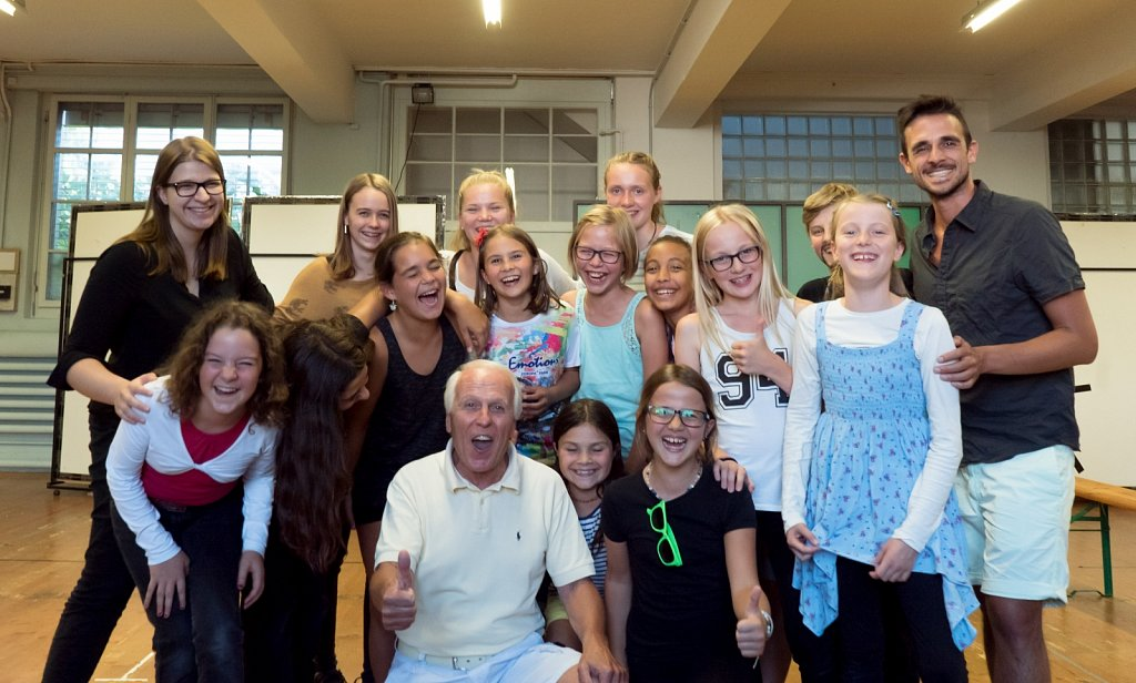 Musicalcamp 2016 mit Walter Andreas Müller